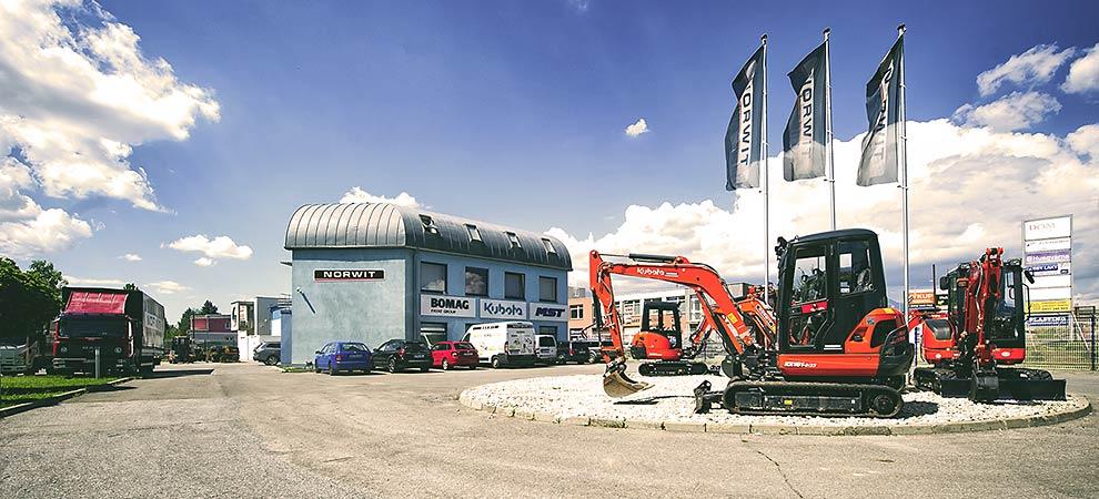 Predaj, prenájom a servis stavebných strojov Bomag